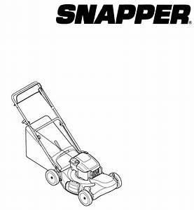 Briggs  U0026 Stratton Lawn Mower 7800929