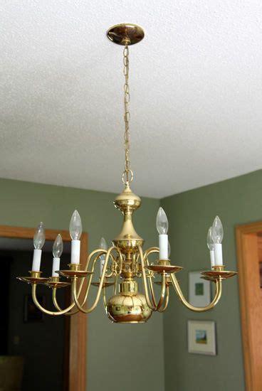 ideas  spray painted chandelier  pinterest