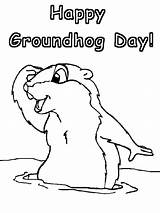 Coloring Pages Groundhog Groundhogs Ground Printable Sheet Printables Hogs Activities Disney Printout Preschoolers Happy Projects sketch template