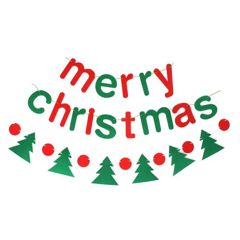 buy christmas banner merry christmas letters