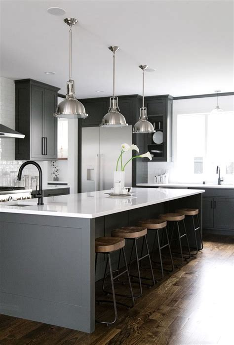 white kitchen wood island 40 and welcoming grey kitchens for your home