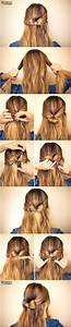 19 Pretty Long Hairstyles with Tutorials - Pretty Designs
