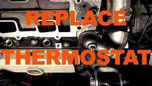 Change Car Thermostat Replacement Fast Way