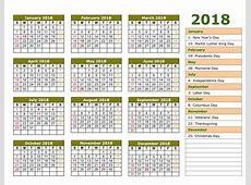 Islamic Calendar 2018 Hijri Calendar 1439 [FREE