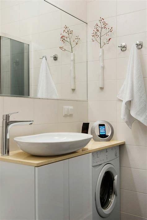 machine a laver cuisine cache machine à laver et sèche linge 24 idées astucieuses