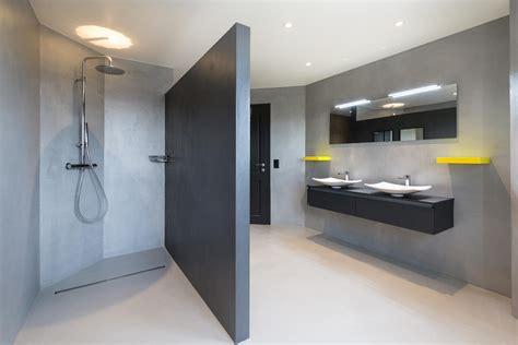 béton ciré cuisine béton ciré pour sol salle de bain cuisine mur marius