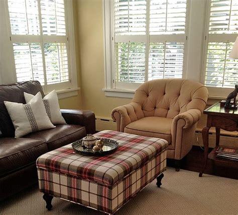 tartan work   living room