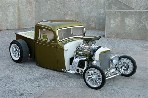 Blown 1937 Chevy Pickup Nails The Show Rod Look