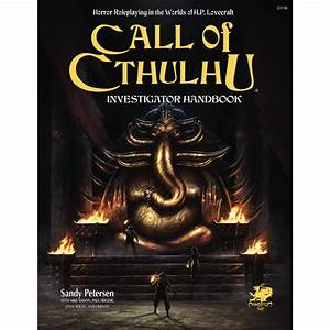 Call Of Cthulhu - 7th Edition