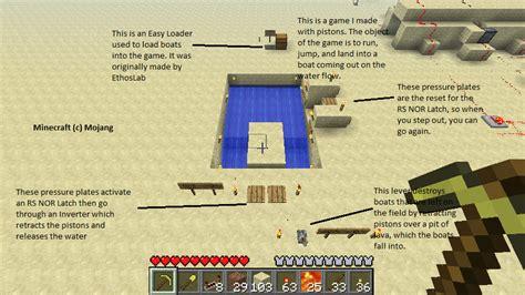 Minecraft Boat Piston by Piston Minecraft By Gigsauce On Deviantart