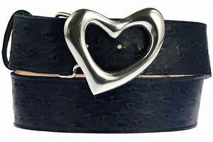 Classic Silver Heart Pewter Plated Belt Buckle For Women