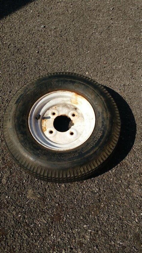 trailer spare wheel   good  condition