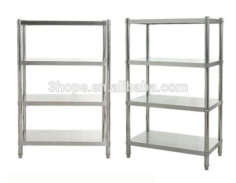 restaurant kitchen stainless steel shelves 4 tiers