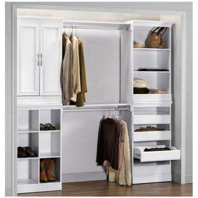 white wood closet organizers awesome system systems 11