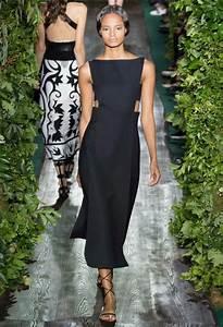 Valentino Fall 2014 couture black midi dress little