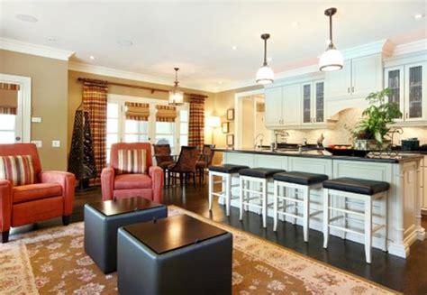 kitchen and living room color ideas kitchen combo living room paint colors house