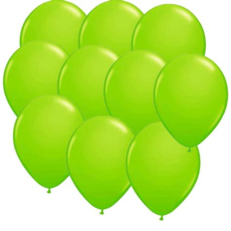 Lime Balloonsminecraft Party Suppliesboxedupparty