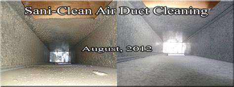 air duct cleaning sani clean air duct cleaning metro