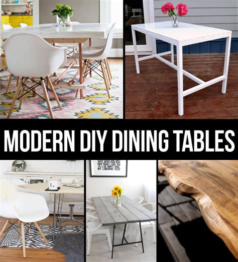 Modern Dining Table Diys  Persia Lou