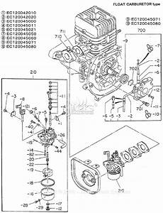 Robin  Subaru Ec12 Parts Diagram For Fuel  Lubricant  Float