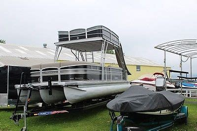 Pontoon Boat Without Trailer by Pontoon With Slide Boats For Sale