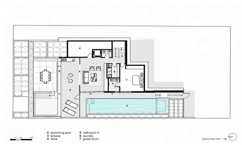 homes plans modern open floor house plans modern house dining room