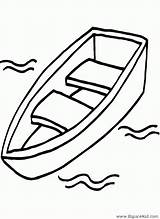 Bateau Boat Dessin Canoe Dibujo Drawing Barcas Colorear Coloriage Coloring Chaloupe Dibujos Canot Imprimir Colorier Grand Imprimer Printable Dessins Drawings sketch template