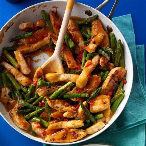 This diabetic vegetarian stir fry recipe is a family favorite at my house. Asparagus Turkey Stir-Fry   Recipe in 2020   Diabetic ...