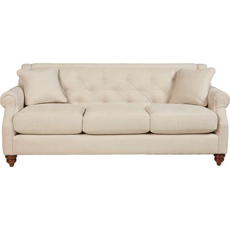 La Z Boy Sofa by La Z Boy Aberdeen Traditional Sofa With Tufted Seatback