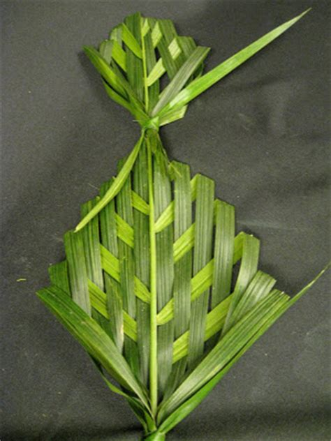 petal palette weaving palm fronds