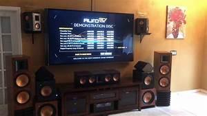 Speaker-test  Denon 13 2 W  Auro 3d   Klipsch Rs-62