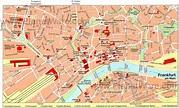 Frankfurt Map and Frankfurt Satellite Image