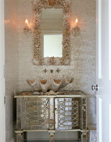 theme mirror 20 practical pretty powder room decorating ideas