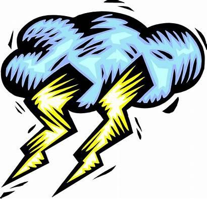 Thunder Clipart Lightning Getdrawings