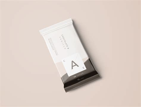 Free luscious chocolate packaging mockup psd is here to showcase the real preview of your digital packaging designs professionaly. Chocolate Bar Mockup - Photoshop PSD on Behance