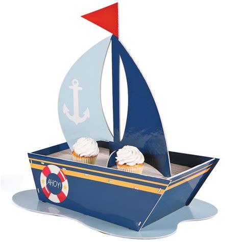 Ebay Sailboat by Nautical Sailboat Cupcake Holder Ebay