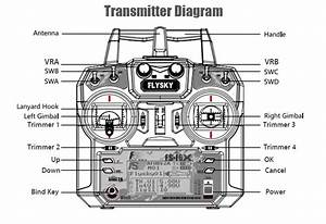 Flysky Fs-i6x 2 4ghz 6ch Afhds 2a Rc Transmitter With Fs-ia10b 2 4ghz 10ch Receiver