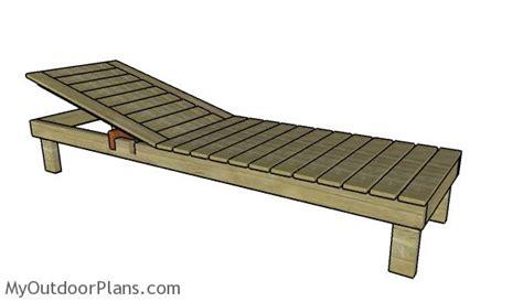 chaise lounge plans myoutdoorplans  woodworking