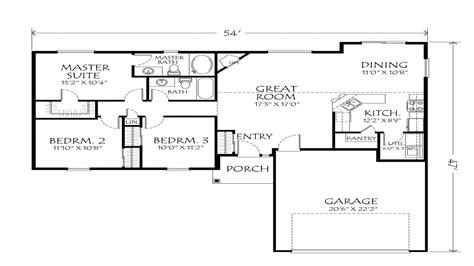 one floor plans best one floor plans single open floor plans