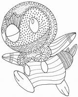 Coloring Pages Cuttlefish Piplup Pokemon Colouring Boys Getcolorings Happy Printable sketch template