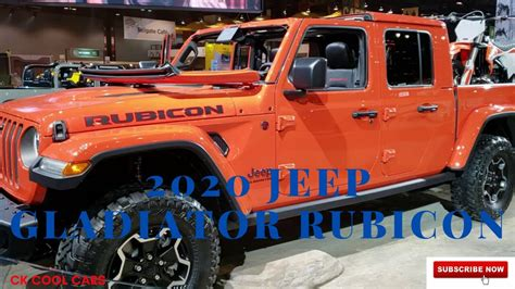 jeep gladiator rubicon review  pricing youtube