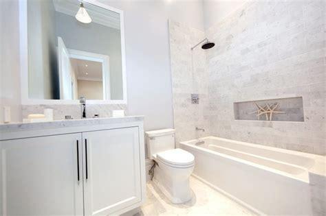 tiled bathrooms designs shower niche ideas cottage bathroom marsh and clark