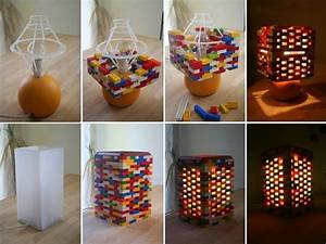 Easy Way To Make A DIY Lego Lamp - Find Fun Art Projects