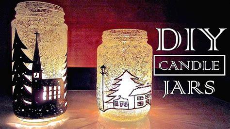 diy candle holders diy christmas decor youtube