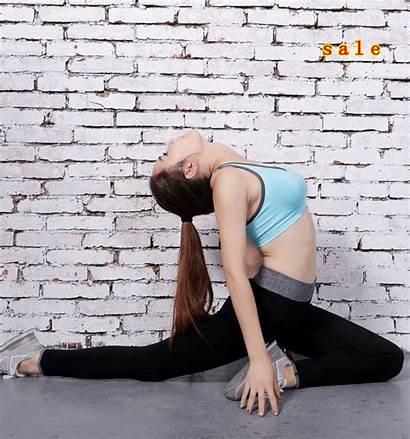 Pants Yoga Gym Stretched Spandex Waist Tights