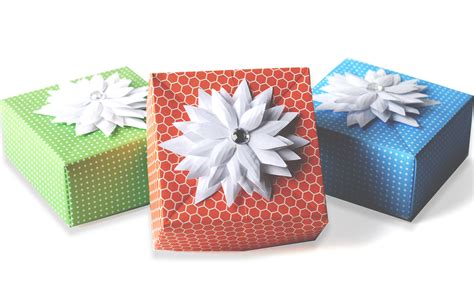 diy origami gift box paper craft