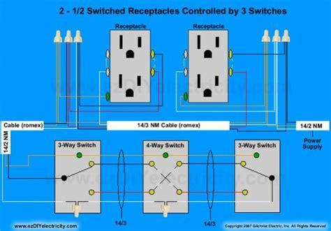 diagram   easiest   wire split receptacles