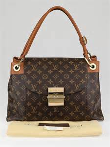 louis vuitton monogram canvas camel olympe bag yoogis