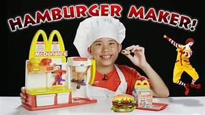 McDonald's HAMBURGER MAKER!!! Turn Peanut Butter into a ...