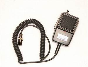 Astatic Rd104e Noise Canceling Microphone Wired For 6pin
